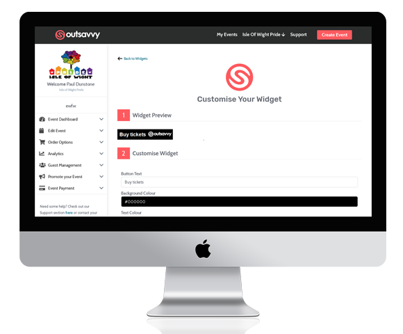 Embed your OutSavvy widgets